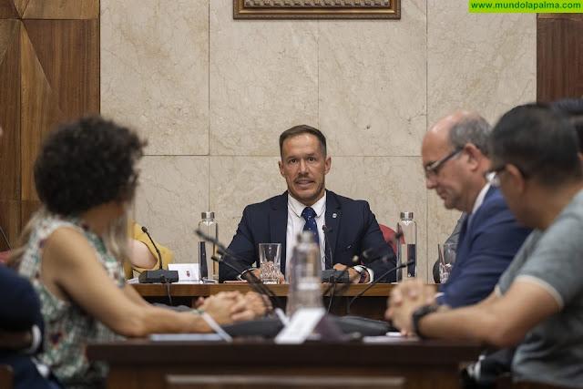El Cabildo desbloquea el presupuesto de 2019 y lo aprobará antes de septiembre
