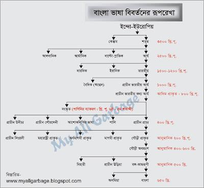 বাংলা ভাষার বিবর্তন