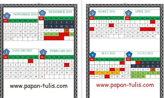 Download Terbaru Kalender Pendidikan Madrasah Prov Kalimantan Selatan