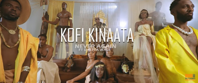(VIDEO) Kofi Kinaata ft. Shatta Wale – Never Again (Mp4 Download)
