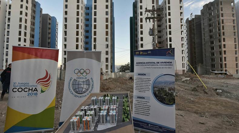 Gobierno desplegó toda la infraestructura para los Juegos Odesur de Cochabamba / TELESUR