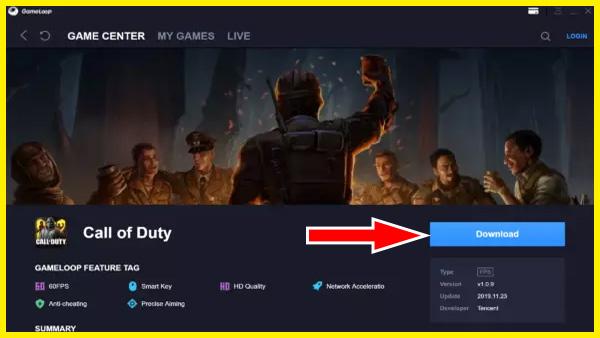 تشغيل لعبة CODM على الكمبيوتر لعب