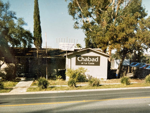 Chabad at La Costa in the early days