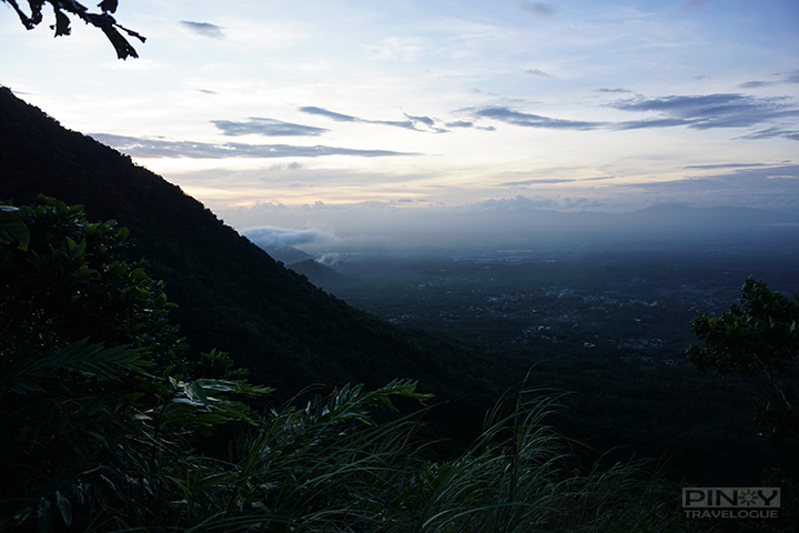 Morning has broken at Mt. Maculot