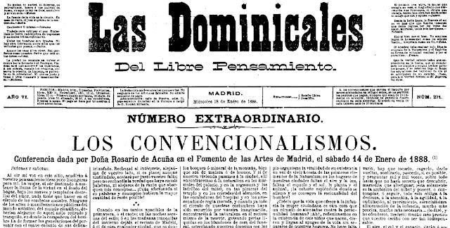 Fragmento del número extraordinario de Las Dominicales