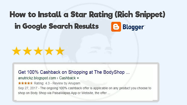 How to Install Star Rating Rich Snippet in Google Search Results