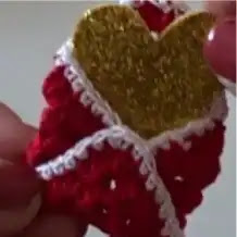 Cartita de Amor a Crochet