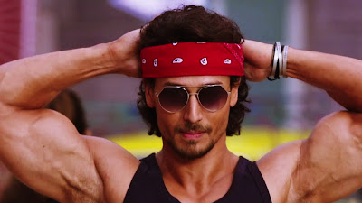 Tiger Shroff Action HD Wallpaper