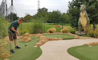 Tee-Rex Adventure Golf at Cardiff Golf Centre