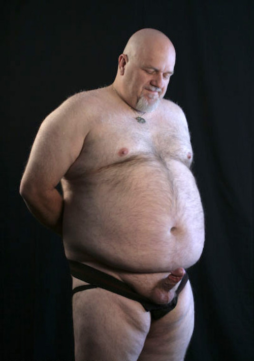 hairy man Chubby