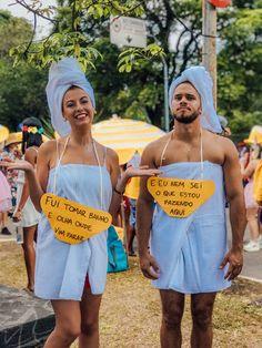 Fantasia , fantasia, folia, carnaval, casal , diy, folia, toalha, banho