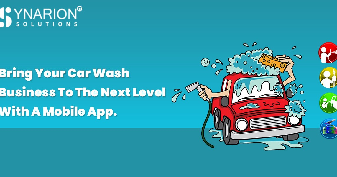 Bring Your Car Wash Business to the Next Level With a Mobile App.