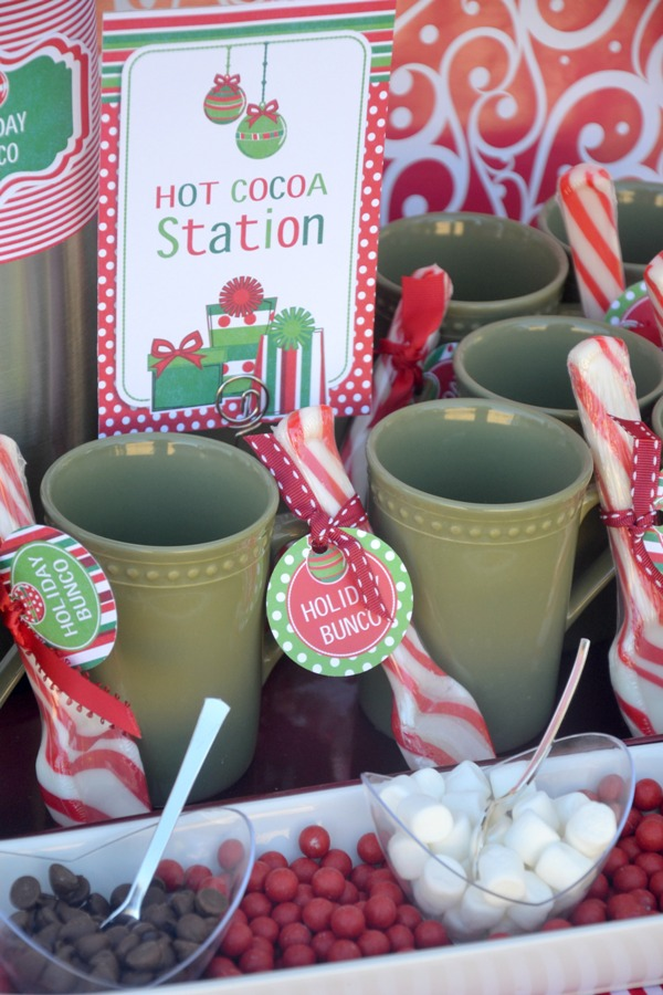 Ordinary Bunco Christmas Party Ideas Part - 2: Fun Christmas Holiday Bunco Party Ideas - BirdsParty.com