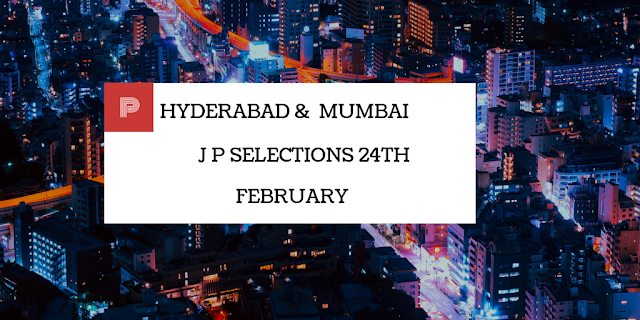 Hyderabad And Mumbai Jackpot Selections 24th February-indianracepunter