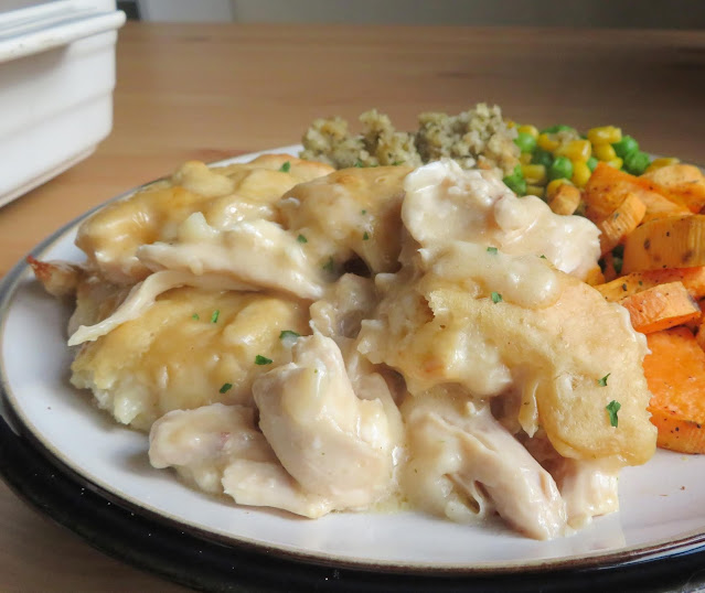 Chicken & Dumpling Casserole for Two