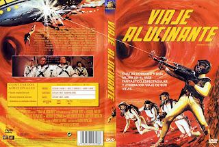 Carátula dvd: Un viaje alucinante (1966)