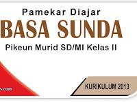 Kisi Kisi Soal PAS B. Sunda Kelas 2 Semester 1 K-13 Th. 2019