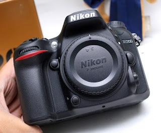 Jual Nikon D7200 Bekas