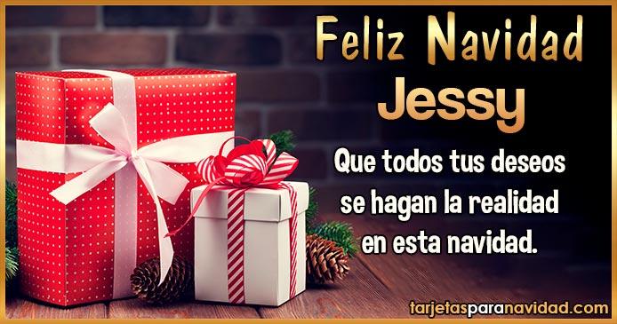 Feliz Navidad Jessy