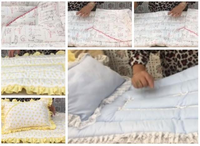تفاصيل الدقيق لنجاح خياطة كوات رضيع / بطانية