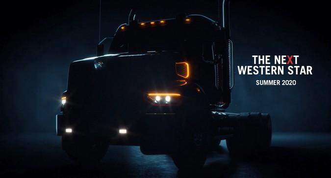 Western Star apresentará novo caminhão vocacional