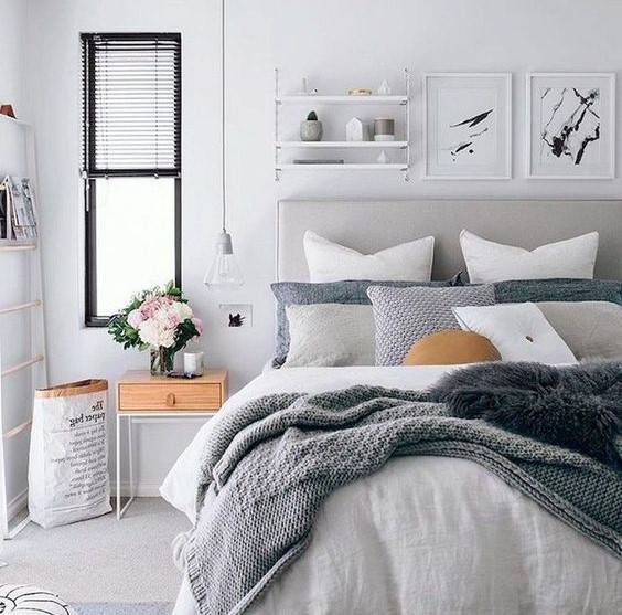 Desain Kamar Tidur Sempit Remaja Minimalis Modern Terbaru