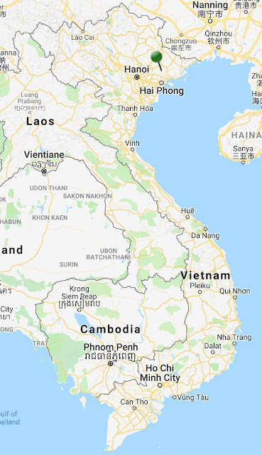 yen tu pinpoint map vietnam