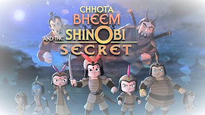 CHHOTA BHEEM AND THE SHINOBI SECRET