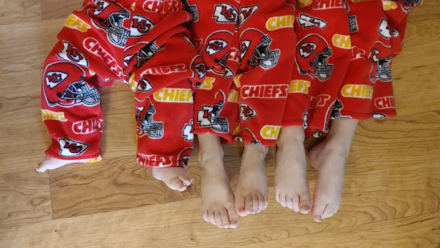 Chiefs pajama pants