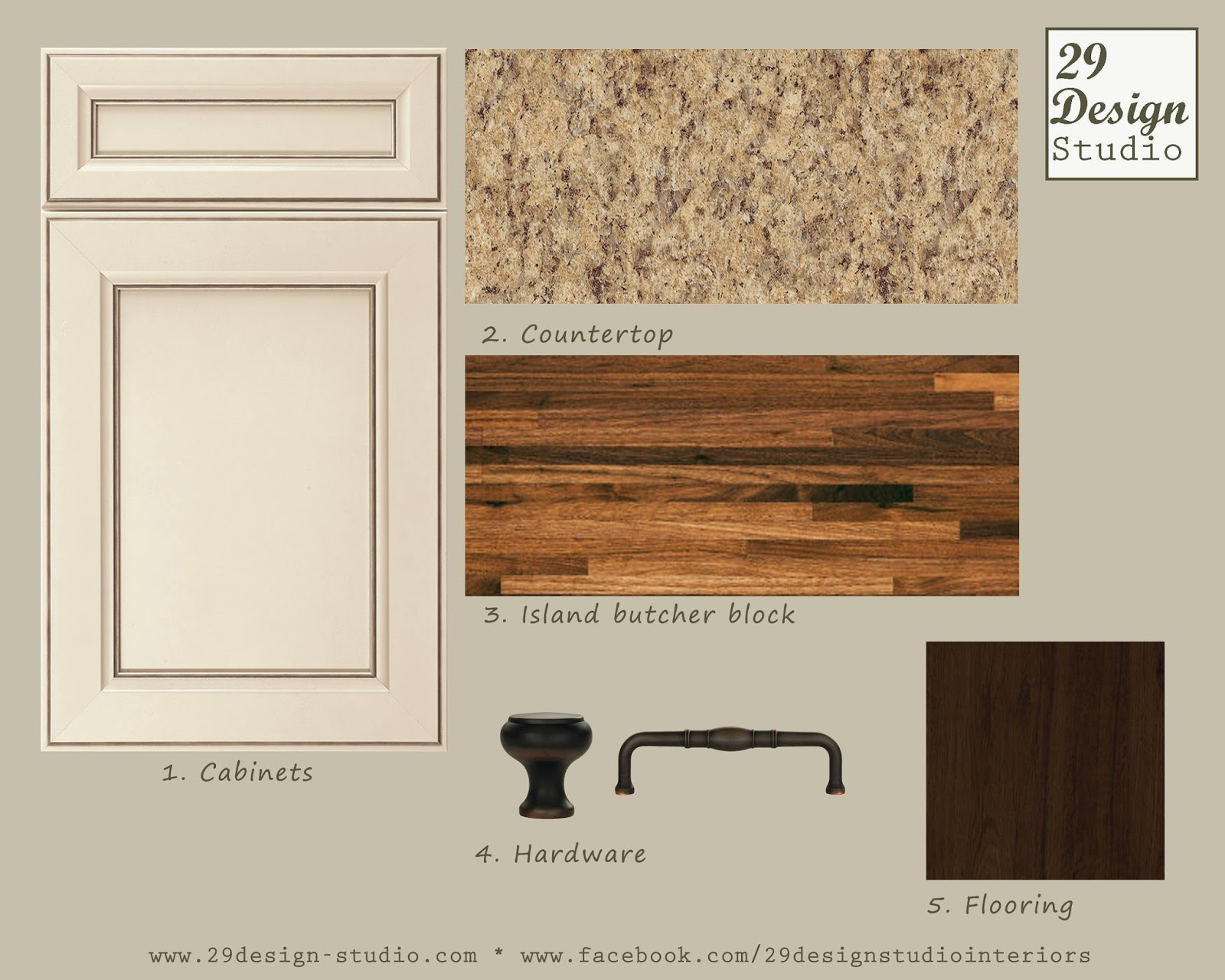 Country Kitchen Cabinets Sage