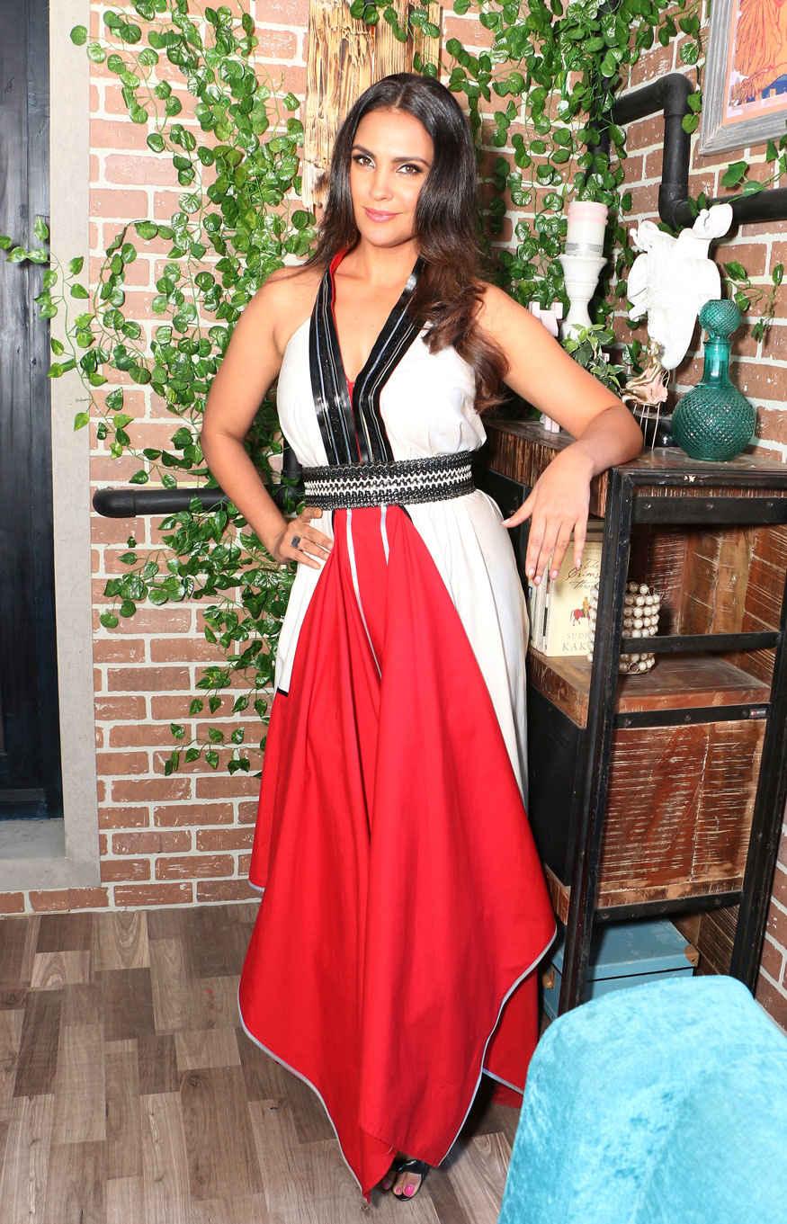 Lara Dutta During First Day Shoot of 'Yamaha Fascino Miss Diva 2017' at Famous Studio