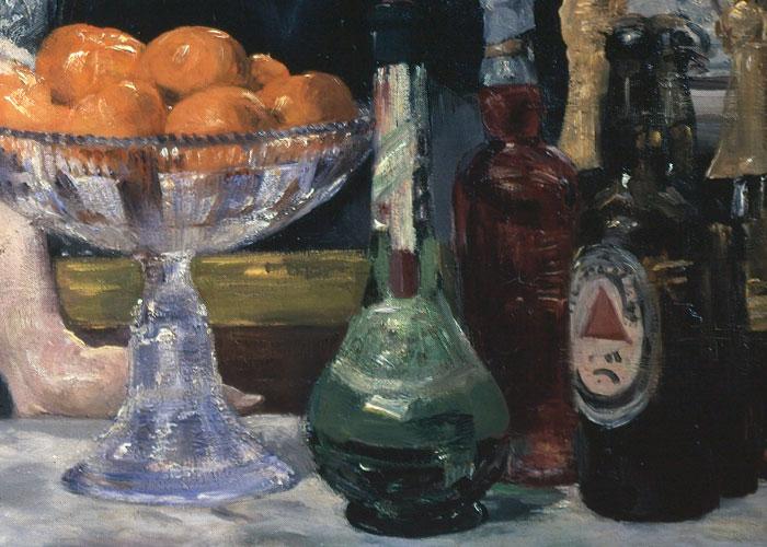 color y forma: El bar ...A Bar At The Folies Bergere By Manet