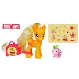 My Little Pony Promo Pack Applejack Brushable Pony