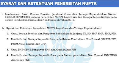 Panduan Verval PTK Terbaru 2016/2017