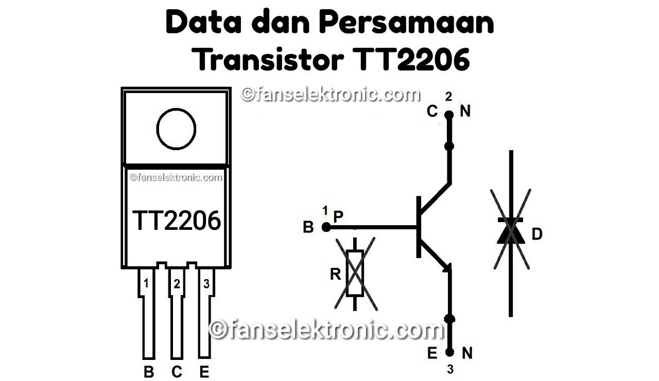 Persamaan Transistor TT2206