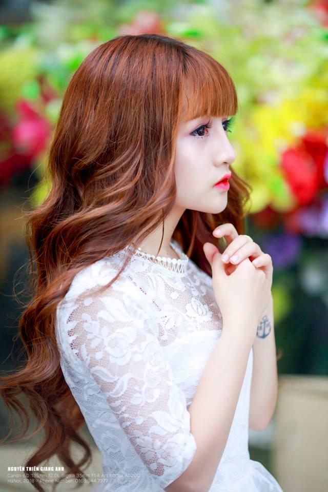 Ngắm vẻ đẹp thiên thần của hot girl Hà Tĩnh Nguyễn Thị Kiều Trang