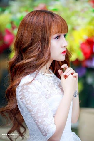 Ngắm vẻ đẹp thiên thần như búp bê của hot girl Nguyễn Thị Kiều Trang