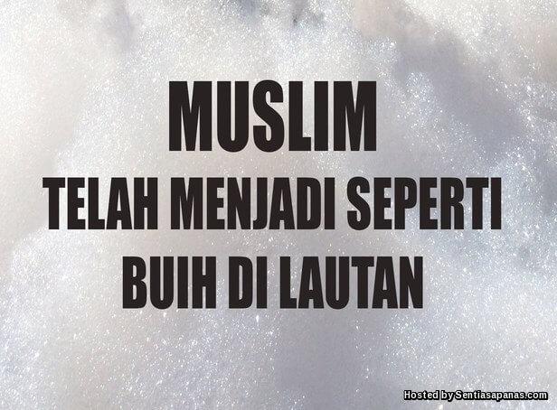 Islam umpama buih