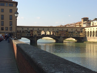 Photo of the Ponte Vecchio