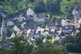 Blick auf Bruchhausen