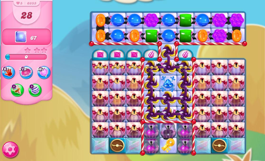Candy Crush Saga level 6855