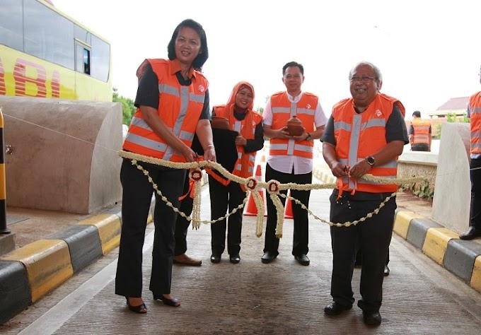 Beautifikasi 9 Gerbang Tol Tangerang-Merak Telah Rampung