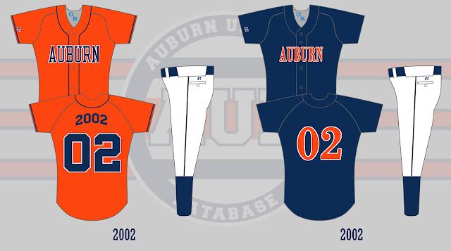 auburn softball uniform 2002