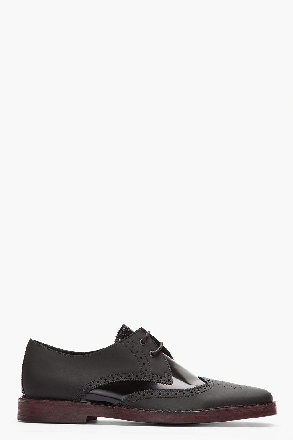 103b2d1a112b5 Fusion Of Effects  Trendology  Pierre Hardy Black Matte   Patent Leather  By10 Derbys