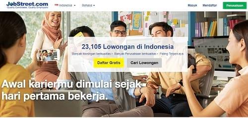 Situs Lowongan Kerja Jobstreet.co.id