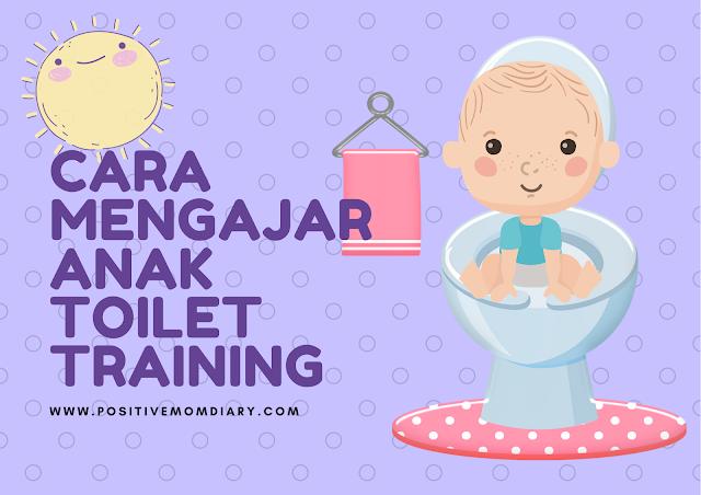 Mengajar anak toilet training