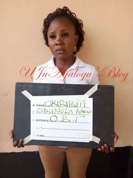 See The Face Of The Female Herbalist Who Duped Her Victim Of N45million