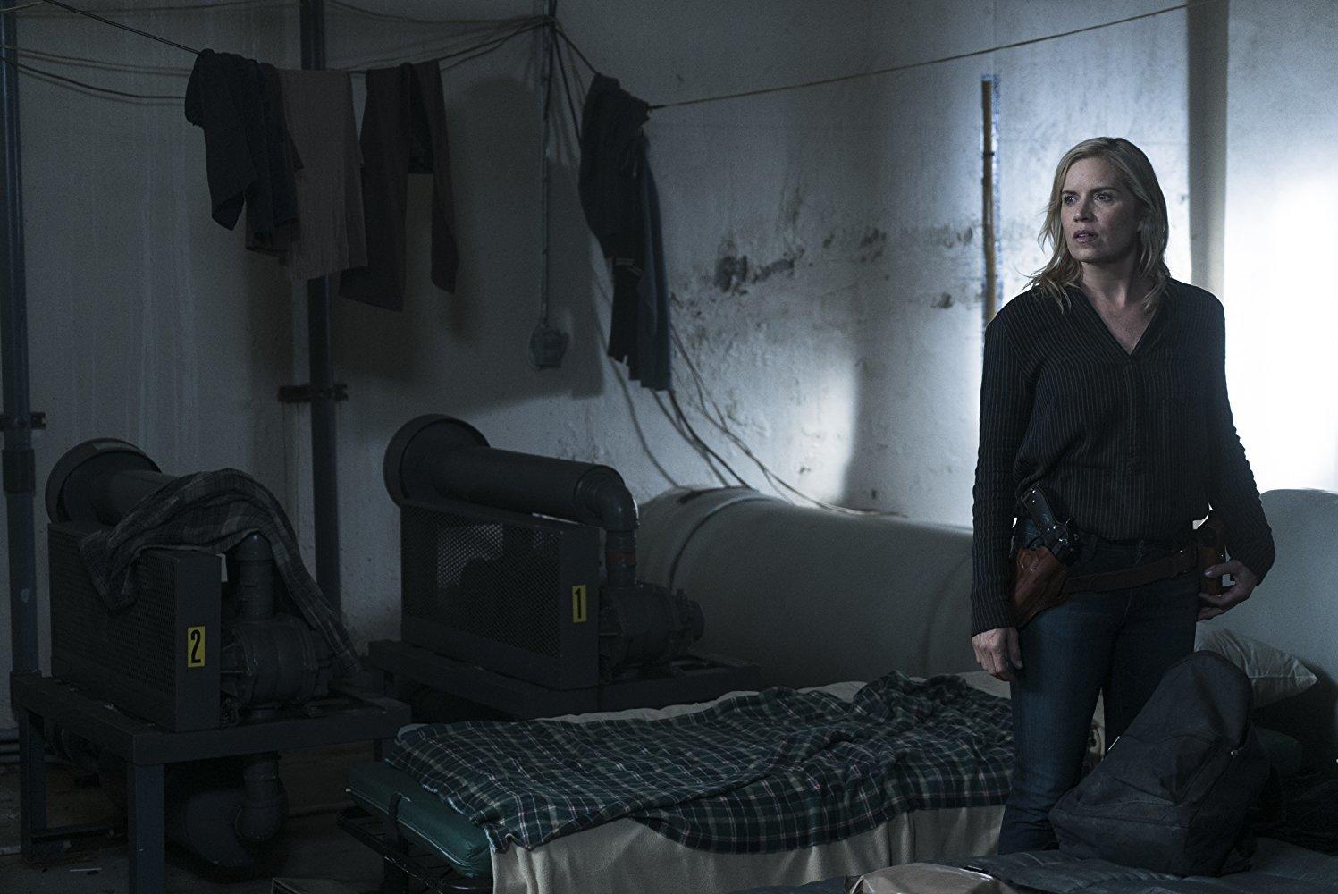 Madison en el episodio La Serpiente 3x11 de Fear The Walking Dead