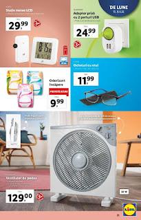 CATALOGUL LIDL 15 - 21 iulie 2019 promotie ventilator de podea