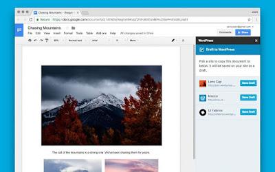 ووردبريس تطلق إضافة برمجية تسهل كتابة التدوينات ونشرها من خدمة مستندات جوجل